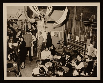 thumbnail image for Party at the studio of Robert Boardman Howard