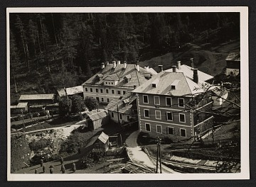 thumbnail image for Salt mine buildings at Altaussee, Austria