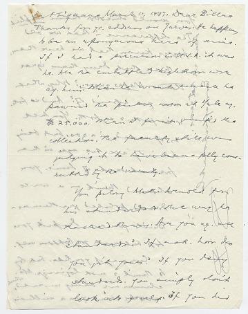 thumbnail image for Bernard Berenson letter to William Mills Ivins