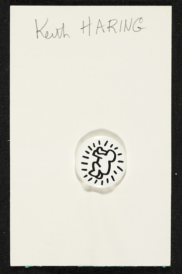 thumbnail image for Keith Haring button