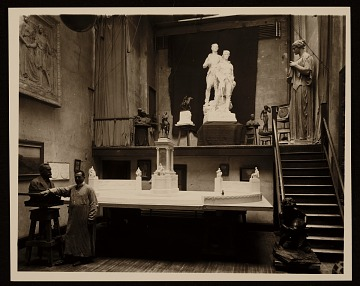 thumbnail image for Charles Keck in his studio