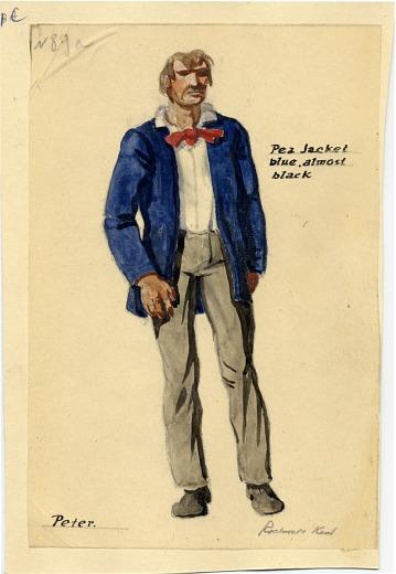 thumbnail image for Rockwell Kent, costume design for Benjamin Britten's <em>Peter Grimes</em>