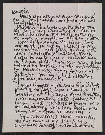 thumbnail image for Abraham Rattner letter to William Austin Kienbusch
