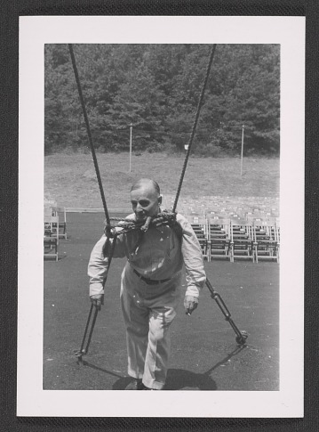 thumbnail image for Frederick Kiesler at the Empire State Music Festival in Ellenville, N.Y.