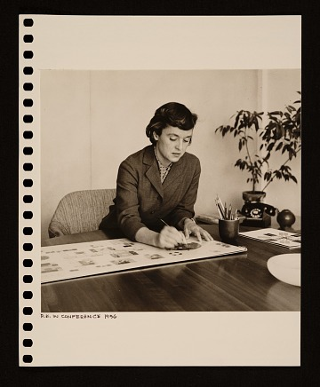 thumbnail image for Florence Knoll Bassett papers, 1932-2000