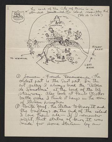 thumbnail image for Eero Saarinen to unidentified recipient