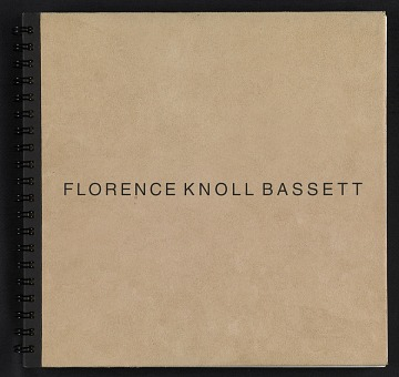 thumbnail image for Portfolio: a chronology of Florence Knoll Bassett from 1932 onward