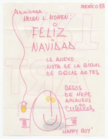 thumbnail image for Miguel Cubiles, Mexico, to Helen L. Kohen, Miami, Fla.