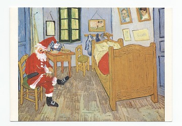 thumbnail image for Arturo Rodríguez Christmas card to Helen L. Kohen