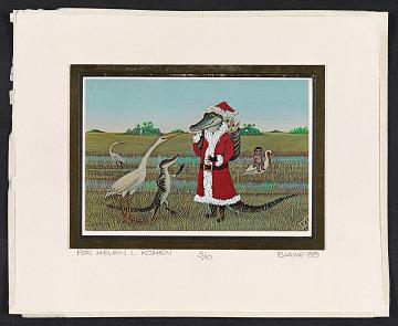 thumbnail image for Blaine Christmas card to Helen L. Kohen