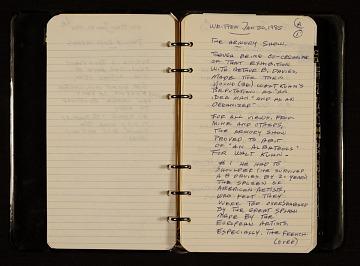 thumbnail image for Brenda Kuhn notes concerning Walt Kuhn, 1974-1985