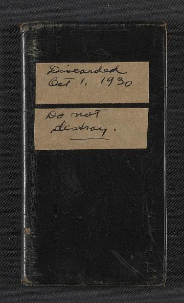 thumbnail image for Walt Kuhn's address book