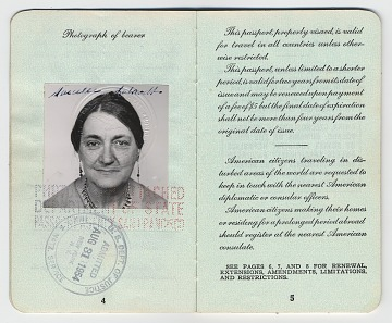 thumbnail image for Marcelle Labaudt's passport