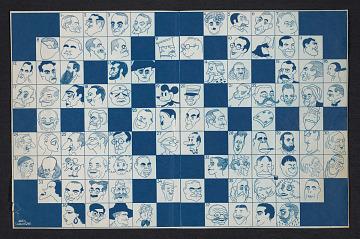 thumbnail image for Proof print for <em>Ballyhoo</em> magazine crossword puzzle