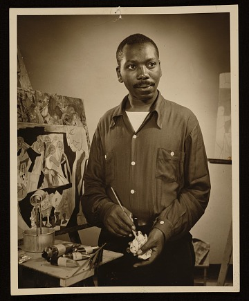 thumbnail image for Jacob Lawrence and Gwendolyn Knight papers, 1945-2005