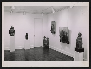 thumbnail image for Installation view of the Marisol exhibition