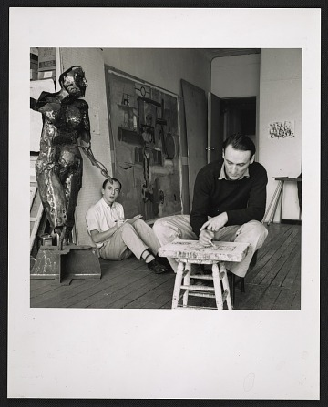 thumbnail image for Frank O'Hara and Larry Rivers