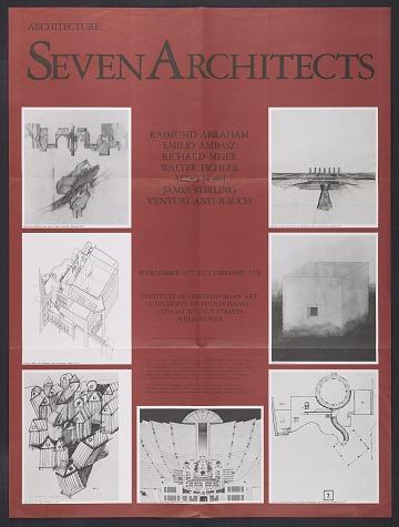 thumbnail image for <em>Architecture: Seven Architects</em> exhibition poster
