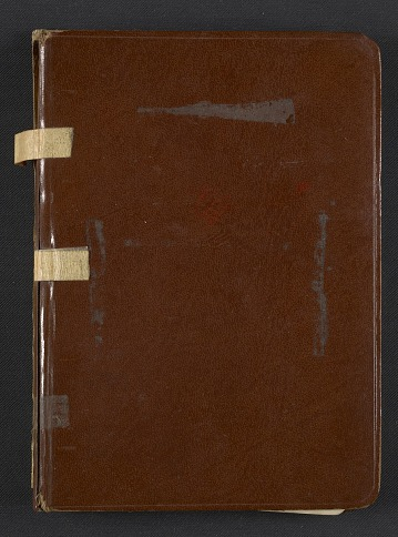 thumbnail image for Dorothy Liebes' address book