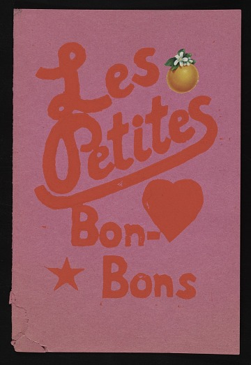 thumbnail image for Les Petites Bons-bons mail art to Lucy Lippard