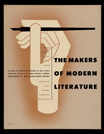 thumbnail image for <em>The Makers of Modern Literature</em> poster design