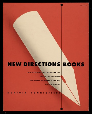 thumbnail image for <em>New Directions Books</em> poster design