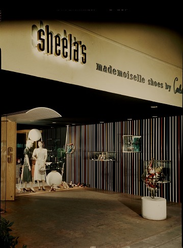 thumbnail image for Storefront display at Sheela's department store