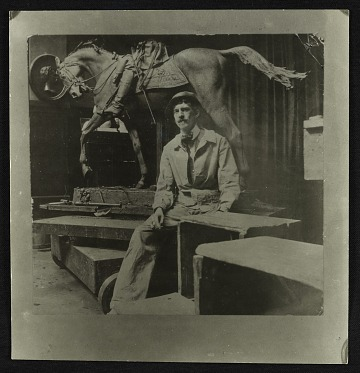 thumbnail image for Frederick William MacMonnies papers, 1874-1997