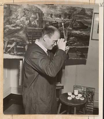 thumbnail image for Reginald Marsh papers, 1897-1955
