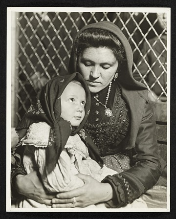 thumbnail image for Peace, an Ellis Island Madonna