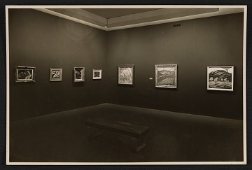 thumbnail image for An installation view of Marsden Hartley's Museum of Modern Art exhibition
