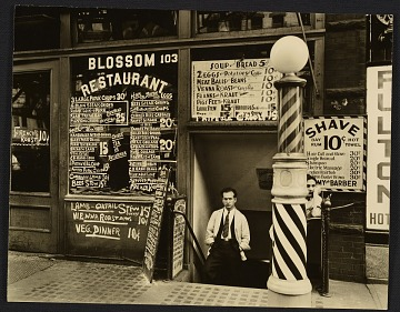 thumbnail image for A view of the Blossom Restaurant at 103 Bowery in Manhattan