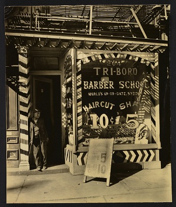 thumbnail image for Tri-Boro Barber School at 246 Bowery in Manhattan