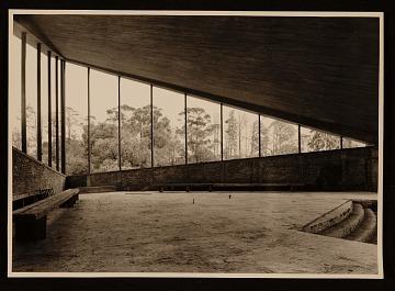 thumbnail image for Felix Candela's Capilla de Nuestra Senora de la Soledad ('El Altillo'). Interior view