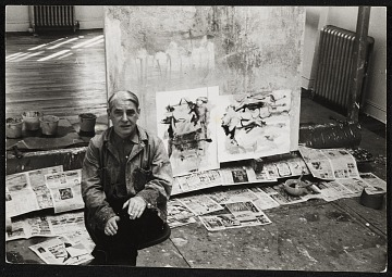 thumbnail image for Photographs of artists by Fred McDarrah, 1963-1976