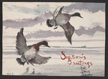 thumbnail image for F. Douglas Greenbowe Christmas card to unidentified recipient