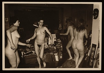 thumbnail image for Stephanie Caloia and a group of models dancing