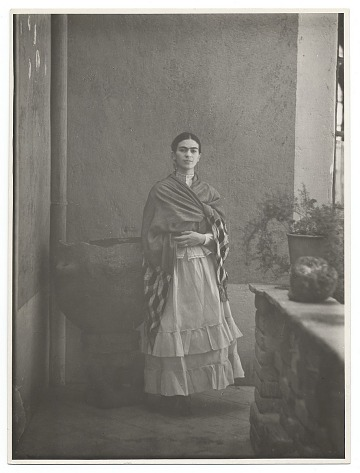 thumbnail image for Potrait of Frida Kahlo