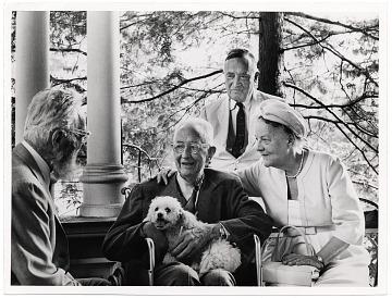 thumbnail image for Edward Steichen, Charles Sheeler, Carl Carmer, and Mrs. Eugene Mayer