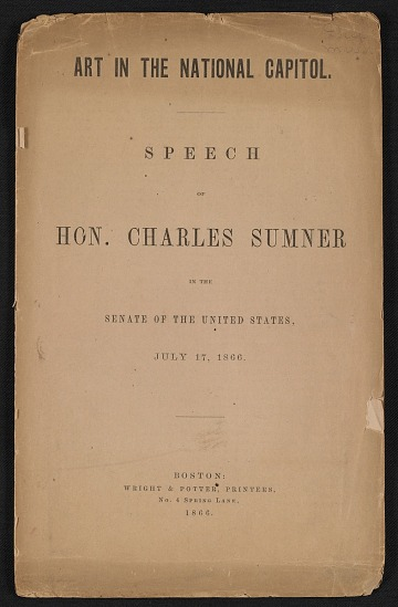 thumbnail image for Art in the National Capitol; speech in the Senate of the United States