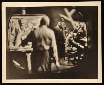 thumbnail image for Bruce Mitchell painting the Oscar Peterson trio