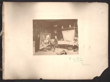 thumbnail image for Henry Mosler photograph album