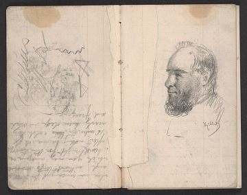 thumbnail image for Notebook of sketches and writings