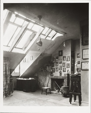 thumbnail image for Nickolas Muray's studio at 129 MacDougal Street