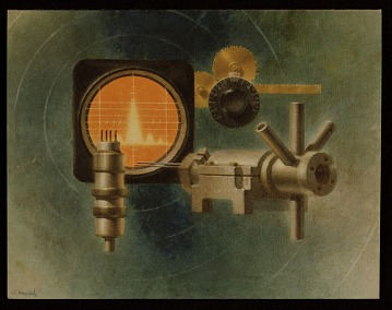 thumbnail image for Polarad Electronics Corporation Christmas card illustrated by Walter T. Murch