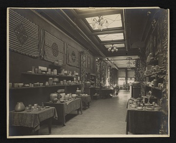 thumbnail image for Installation view of the Sixth annual exhibition of arts and crafts at the National Arts Club