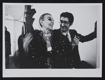 thumbnail image for Louise Nevelson with Giorgio Marconi at Studio Marconi in Milan, Italy