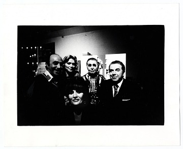 thumbnail image for Louise Nevelson with friends after an exhibit opening