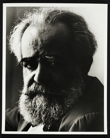 thumbnail image for Arnold Newman photographs of artists, ca. 1940-1960