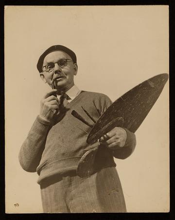 thumbnail image for Bror Julius Olsson (B.J.O.) Nordfeldt papers, 1909-1989